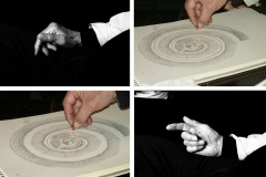 Hands of master